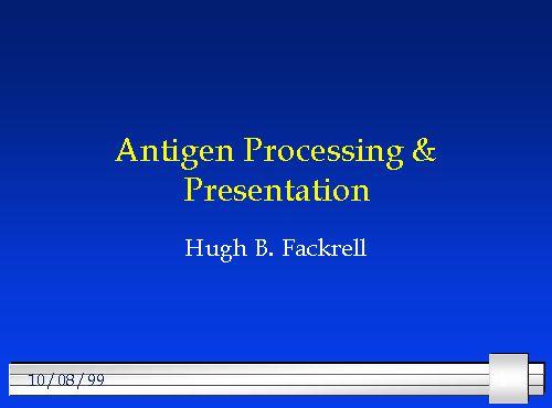 Antigen Processing &am...