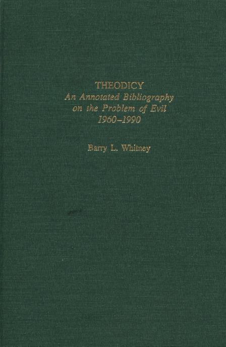 Dissertation evil problem thesis